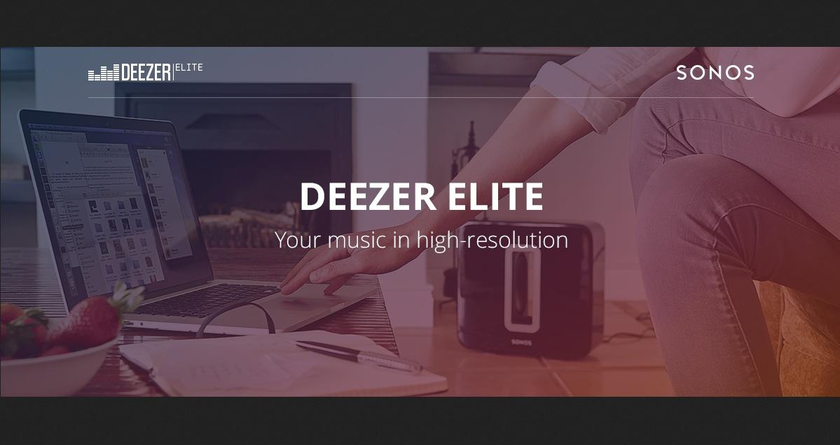 Deezer Elite Sonos