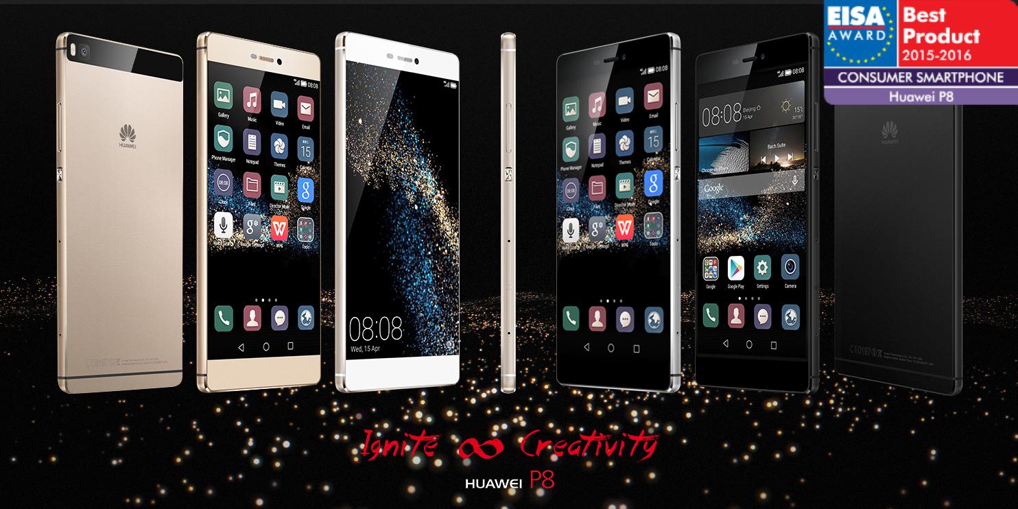 Huawei P8 EISA