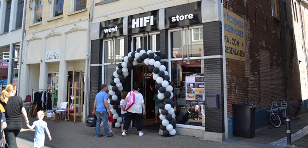 west HIFI store Kampen Openingstijden
