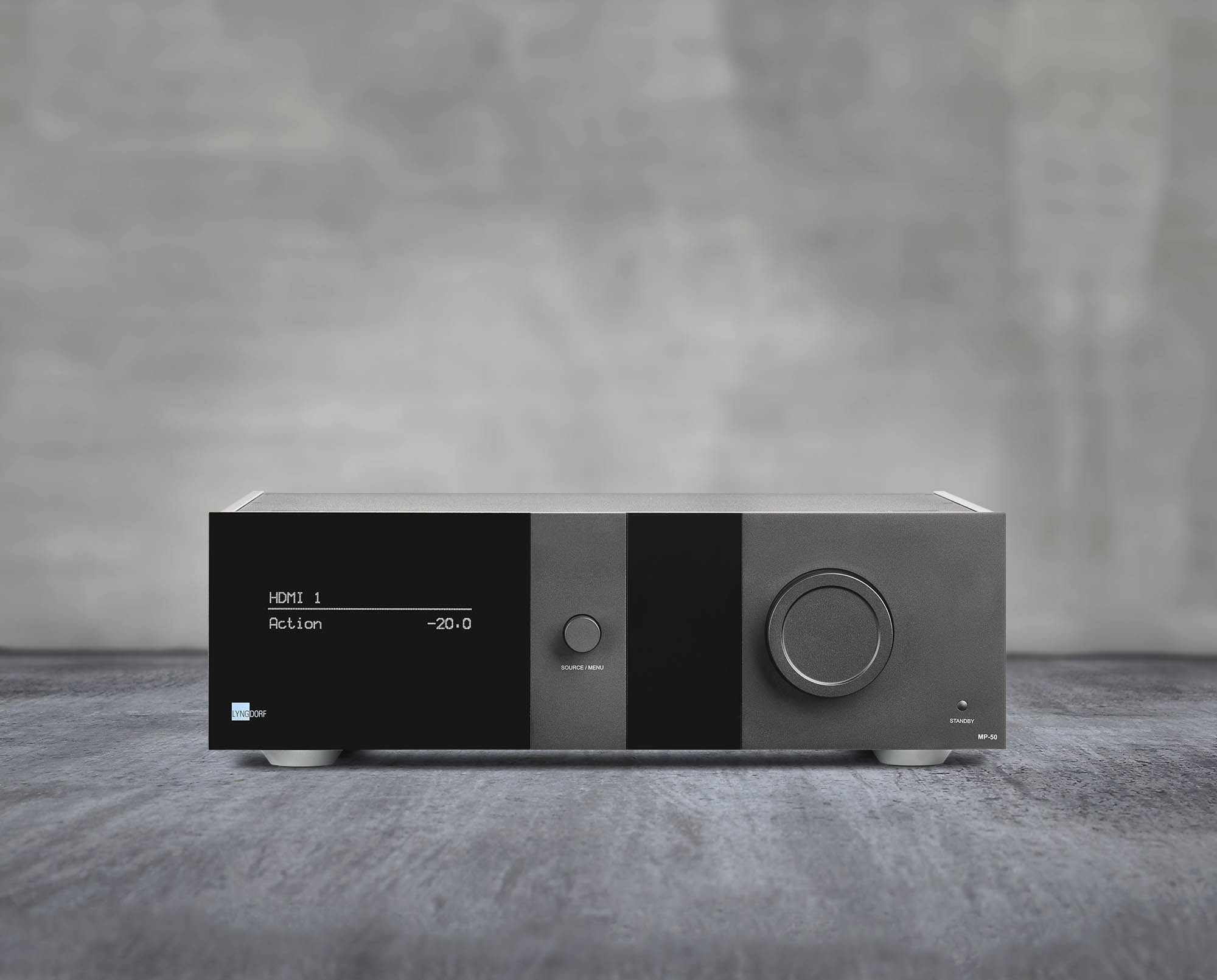 Lyngdorf Audio MP-50 front