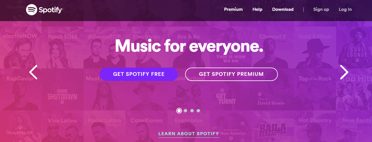 spotify exclusives