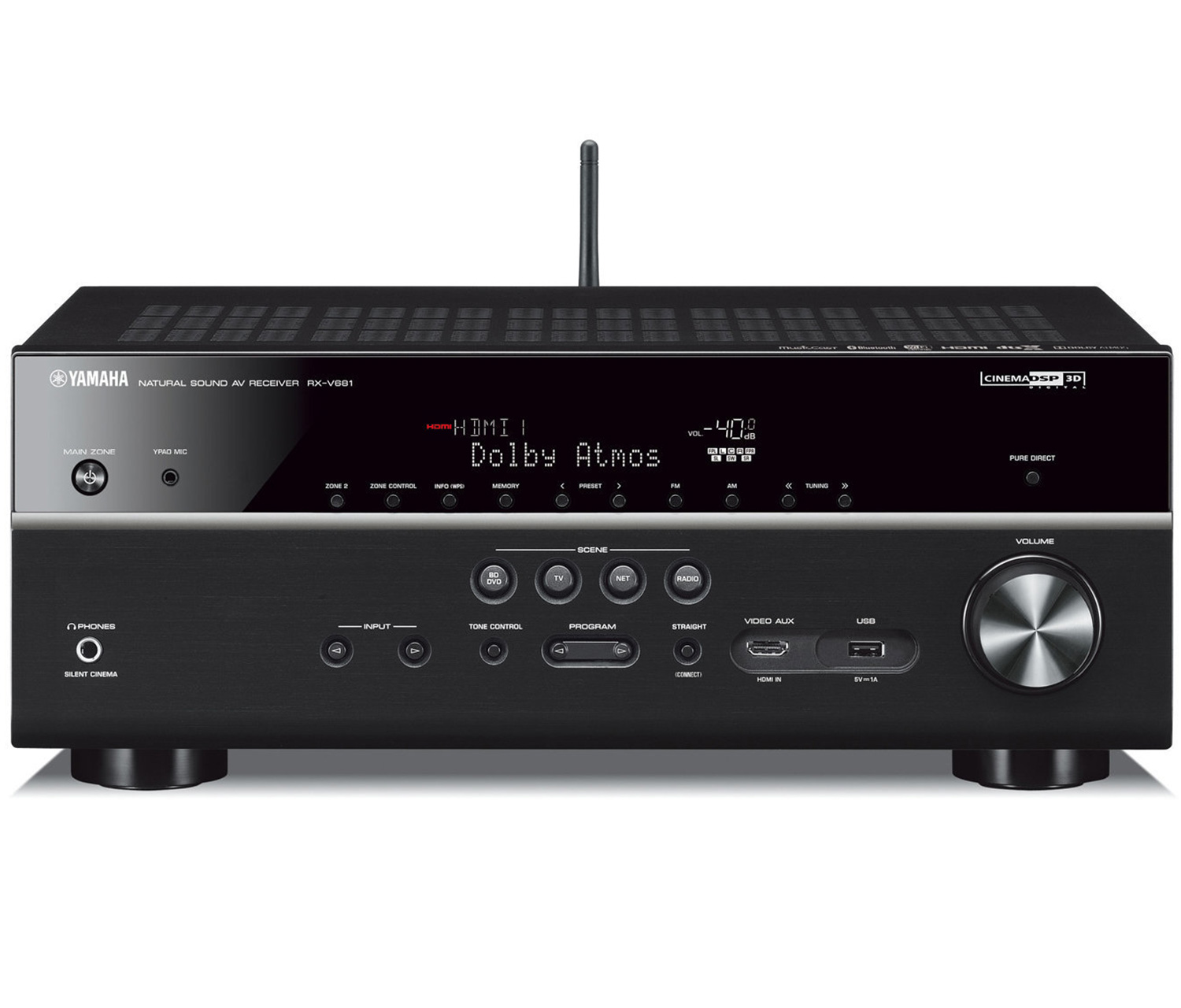 Yamaha av-receivers