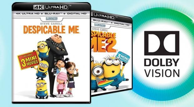 Despicable Me is eerste 4K Blu-ray met Dolby Vision