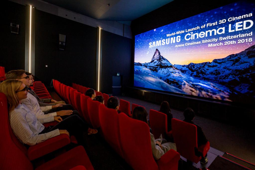 3D Cinema Led