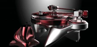 Metaxas & Sins' Phonographic Perambulator Turntable